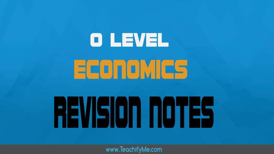 economic revision notes Browse the biggest online database of study resources in economics download  thousands of economics study documents on docsity.