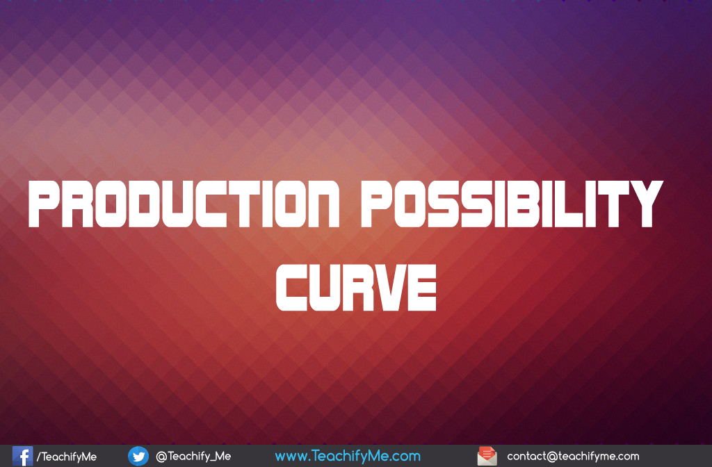 production possibility curve Best answer: a production possibilities curve shows how much can be produced when only two goods are considered at any point on the curve, it shows the.