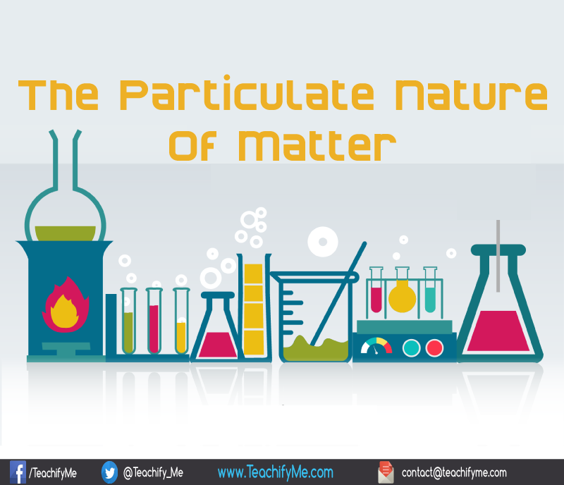the particulate nature of matter teachifyme