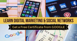 Get A Free Certificate From Google Digital  Garage – Learn Digital Marketing And Social Networks