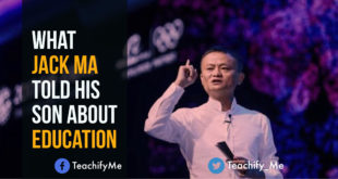 What Jack Ma Told His Son About Education
