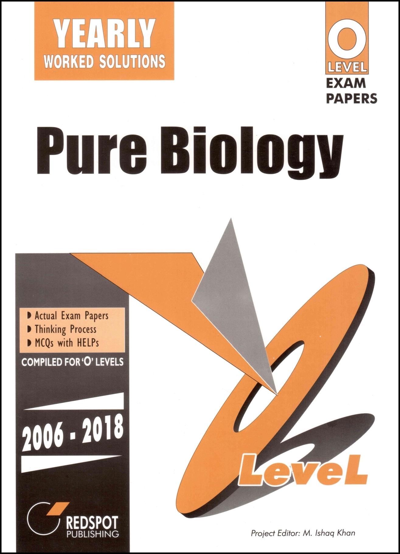 O Level Pure Biology (Yearly) - Redspot