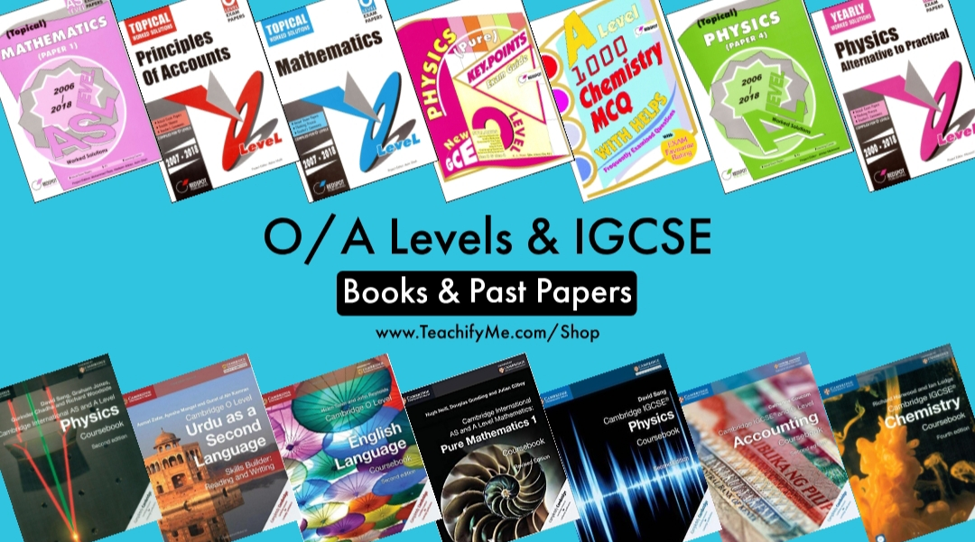O Level AS Level A Level Books and Solved Past Papers Topical Yearly Pakistan